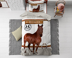 Horse Riding Brown
