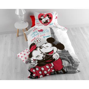 Mickey and Minnie in Paris Grey